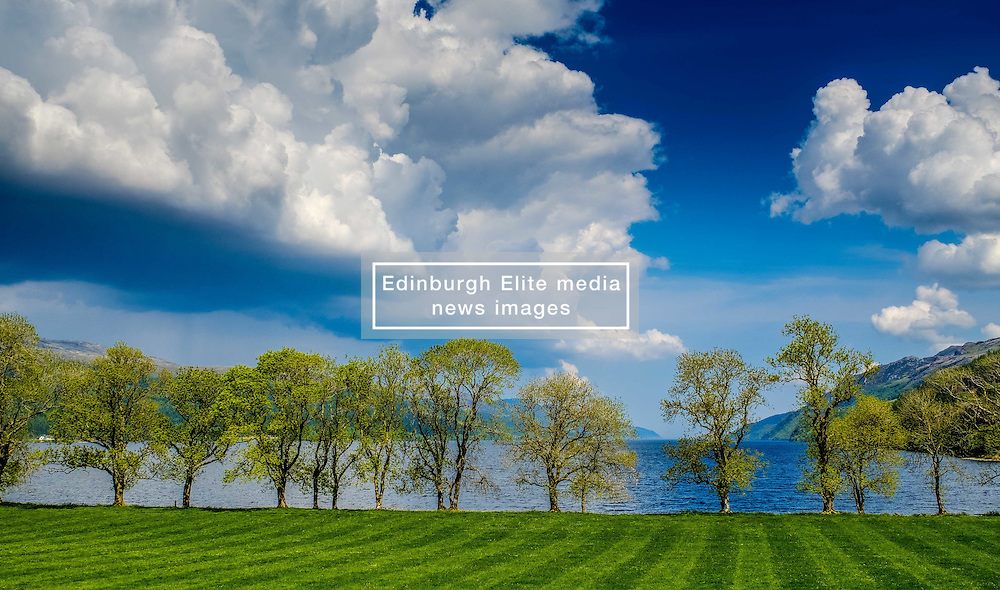 Storm clouds gathering over the southern end of Loch Ness near Fort Augustus<br /> <br /> (c) Andrew Wilson | Edinburgh Elite media