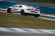 November 19-22, 2015: Lamborghini Super Trofeo at Sebring Intl Raceway. #105 Daniel Zampieri (ITA) Roman Mavlanov (RUS), Antonelli Motorsport