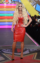 Bianca Gascoigne arriving at the Celebrity Big Brother Launch 2017, Elstree Studios, Borehamwood, Hertfordshire