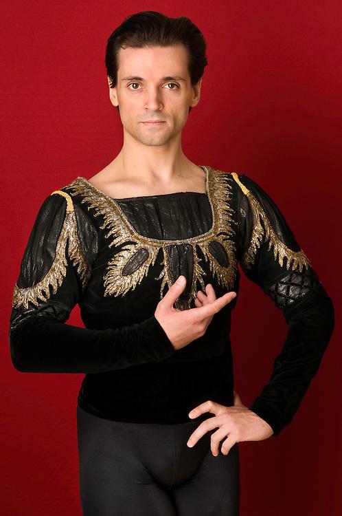 Angel COrella, bailarin.<br /> Corella Ballet, Fundacion Angel Corella.<br /> La Granja.<br /> Segovia, Espa&ntilde;a.