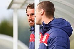 Chris Difford talks with Chris Underwood - Mandatory by-line: Ryan Hiscott/JMP - 14/10/2018 - FOOTBALL - Stoke Gifford Stadium - Bristol, England - Bristol City Women v Birmingham City Women - FA Women's Super League 1