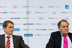 Sponsors during press conference of TZS - Slovene Tennis Association after the end of the season 2012/13, on December 3, 2013 in BTC, Ljubljana, Slovenia. Photo by Vid Ponikvar / Sportida