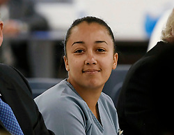 """Eva Longoria releases a photo on Twitter with the following caption: """"""""BREAKING: Cyntoia Brown was just granted clemency from a life sentence in prison for killing a man who bought her for sex when she was 16.<br /> <br /> She&#39;ll be released on parole supervision on August 7."""""""". Photo Credit: Twitter *** No USA Distribution *** For Editorial Use Only *** Not to be Published in Books or Photo Books ***  Please note: Fees charged by the agency are for the agency's services only, and do not, nor are they intended to, convey to the user any ownership of Copyright or License in the material. The agency does not claim any ownership including but not limited to Copyright or License in the attached material. By publishing this material you expressly agree to indemnify and to hold the agency and its directors, shareholders and employees harmless from any loss, claims, damages, demands, expenses (including legal fees), or any causes of action or allegation against the agency arising out of or connected in any way with publication of the material."""
