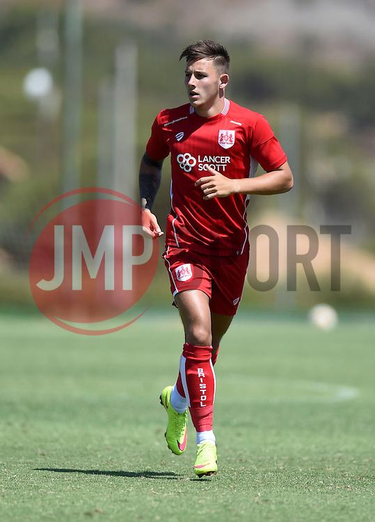 Josh Brownhill of Bristol City  - Mandatory by-line: Joe Meredith/JMP - 22/07/2016 - FOOTBALL - La Manga Training Ground - La Manga, Murcia - UCAM v Bristol City - Pre-season friendly