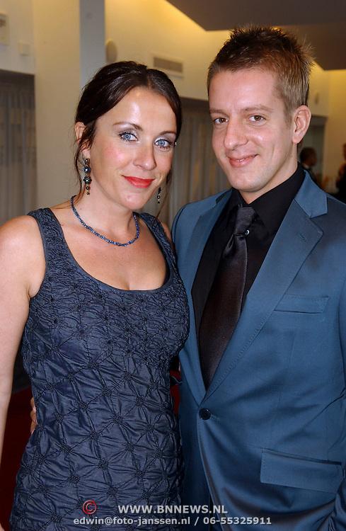 NLD/Tilburg/20051023 - Premiere musical Annie, Annick Boer en Alex Klaassen