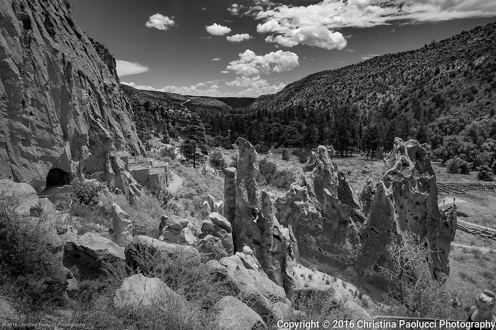 Bandelier National Monument near Santa Fe, New Mexico June 2016. (Christina Paolucci, photographer)