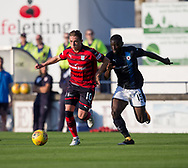 Dundee&rsquo;s Scott Allan and Raith&rsquo;s Yaw Osei-Opoku - Raith Rovers v Dundee, Betfred Cup at Starks Park, Kirkcaldy, Photo: David Young<br /> <br />  - &copy; David Young - www.davidyoungphoto.co.uk - email: davidyoungphoto@gmail.com
