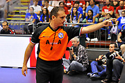 DESCRIZIONE : Campionato 2013/14 Semifinale GARA 2 Olimpia EA7 Emporio Armani Milano - Dinamo Banco di Sardegna Sassari<br /> GIOCATORE : Dino Seghetti<br /> CATEGORIA : Arbitro Referee Mani<br /> SQUADRA : AIAP<br /> EVENTO : LegaBasket Serie A Beko Playoff 2013/2014<br /> GARA : Olimpia EA7 Emporio Armani Milano - Dinamo Banco di Sardegna Sassari<br /> DATA : 01/06/2014<br /> SPORT : Pallacanestro <br /> AUTORE : Agenzia Ciamillo-Castoria / Luigi Canu<br /> Galleria : LegaBasket Serie A Beko Playoff 2013/2014<br /> Fotonotizia : DESCRIZIONE : Campionato 2013/14 Semifinale GARA 2 Olimpia EA7 Emporio Armani Milano - Dinamo Banco di Sardegna Sassari<br /> Predefinita :