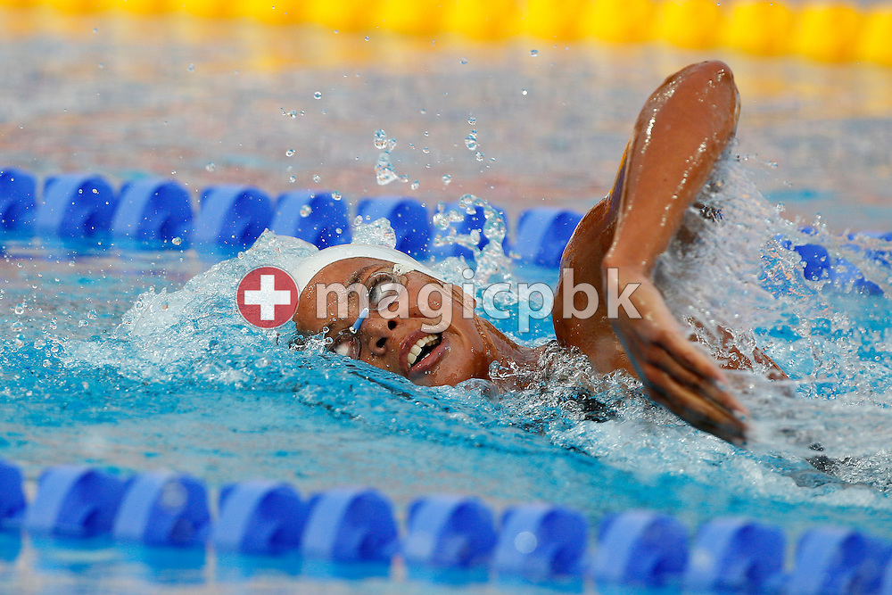 Coralie BALMY of France competes in the women's 400m Freestyle Final at the European Swimming Championship at the Hajos Alfred Swimming complex in Budapest, Hungary, Sunday, Aug. 15, 2010. (Photo by Patrick B. Kraemer / MAGICPBK)