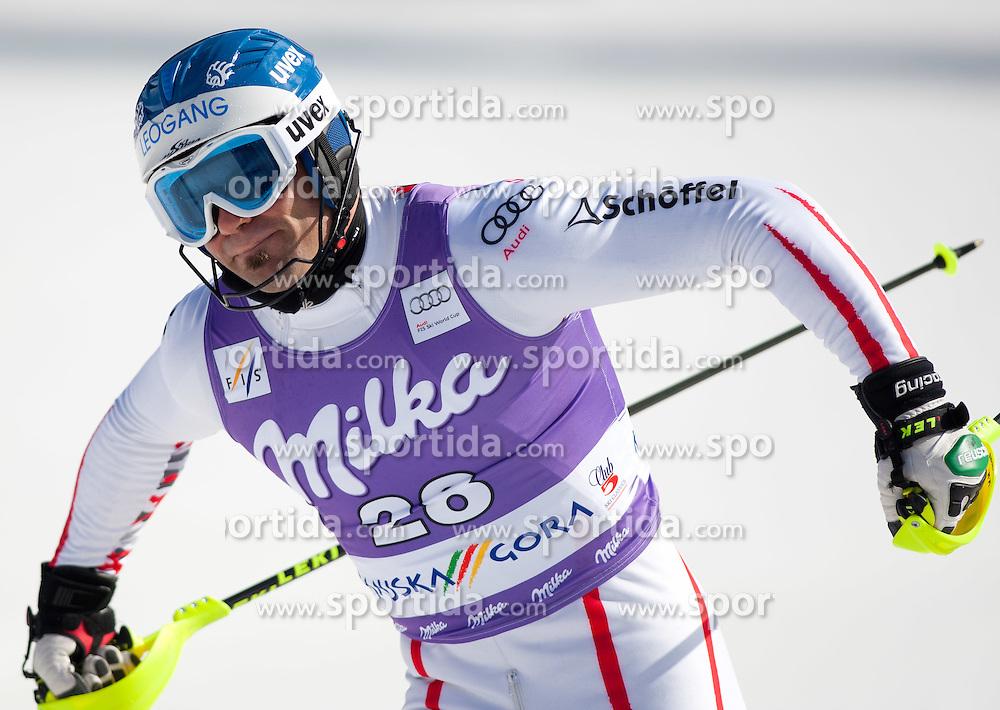 11.03.2012, Podkoren 3, Kranjska Gora, SLO, FIS Weltcup Ski Alpin, Herren, Salom, 2. Durchgang, im Bild Wolfgang Hoerl (AUT, Platz 12) // 12th place Wolfgang Hoerl of Austria during mens Slalom 2nd run of FIS Ski Alpine World Cup at 'Podkoren 3' course in Kranjska Gora, Slovenia on 2012/03/11. EXPA Pictures © 2012, PhotoCredit: EXPA/ Johann Groder