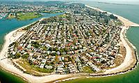 Aerial view of Coney Island, Brooklyn , New York