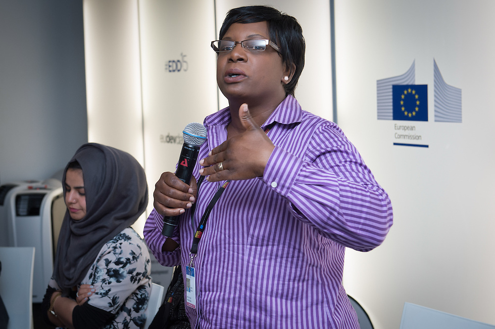 04 June 2015 - Belgium - Brussels - European Development Days - EDD - Citizenships - Accountability advocates - Youth voice at the heart of implementing the Sustainable Development Goals - Besinati Mpepo , Speaker © European Union