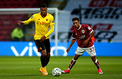 Etienne Capoue of Watford takes on Freddy Hinds of Bristol City - Mandatory by-line: Robbie Stephenson/JMP - 22/08/2017 - FOOTBALL - Vicarage Road - Watford, England - Watford v Bristol City - Carabao Cup