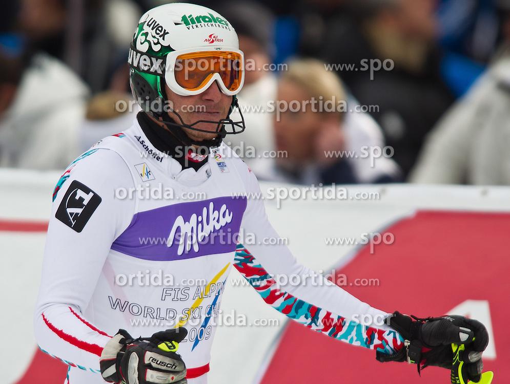 19.02.2011, Gudiberg, Garmisch Partenkirchen, GER, FIS Alpin Ski WM 2011, GAP, Herren, Slalom, im Bild Manfred Pranger (AUT) // Manfred Pranger (AUT) during Men's Slalom Fis Alpine Ski World Championships in Garmisch Partenkirchen, Germany on 20/2/2011. EXPA Pictures © 2011, PhotoCredit: EXPA/ J. Groder