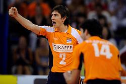 09-07-2010 VOLLEYBAL: WLV NEDERLAND - ZUID KOREA: EINDHOVEN<br /> Nederland verslaat Zuid Korea met 3-1 / Nico Freriks<br /> ©2010-WWW.FOTOHOOGENDOORN.NL