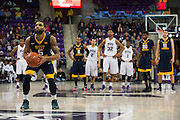 FORT WORTH, TX - JANUARY 4: Jaysean Paige #5 of the West Virginia Mountaineers shoots a free-throw after a technical foul against the TCU Horned Frogs on January 4, 2016 at Ed and Ray Schollmaier Arena in Fort Worth, Texas.  (Photo by Cooper Neill/Getty Images) *** Local Caption *** Jaysean Paige