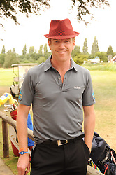 DAMIAN LEWIS at the Mini Masters Golf tournament in aid of LEUKA - London's celebrity golf tournament was held at Duke's Meadow Golf Club, Dan Mason Drive, London W4 on 16th July 2010.