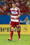 FRISCO, TX - AUGUST 11:  Kenny Cooper #33 of FC Dallas looks on against the Los Angeles Galaxy on August 11, 2013 at FC Dallas Stadium in Frisco, Texas.  (Photo by Cooper Neill/Getty Images) *** Local Caption *** Kenny Cooper