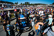 October 1, 2016: IMSA Petit Le Mans, #10 Max Angelelli, Ricky Taylor, Jordan Taylor, Wayne Taylor Racing, Daytona Prototype