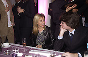 Rosannah Arquette and Antoine Alamo. De Beers launch of flagship store and new jewelry range.  New bond St. and afterwards at the In and Out Club. 21 November 2002. © Copyright Photograph by Dafydd Jones 66 Stockwell Park Rd. London SW9 0DA Tel 020 7733 0108 www.dafjones.com