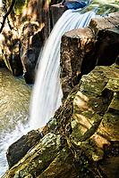 Salto do Famoso. Descanso, Santa Catarina, Brasil. / <br /> Famoso Waterfall. Descanso, Santa Catarina, Brazil.