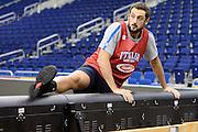 DESCRIZIONE: Berlino EuroBasket 2015 - Allenamento<br /> GIOCATORE: Marco Belinelli<br /> CATEGORIA: Allenamento<br /> SQUADRA: Italia Italy<br /> EVENTO:  EuroBasket 2015 <br /> GARA: Berlino EuroBasket 2015 - Allenamento<br /> DATA: 08-09-2015<br /> SPORT: Pallacanestro<br /> AUTORE: Agenzia Ciamillo-Castoria/I.Mancini<br /> GALLERIA: FIP Nazionali 2015<br /> FOTONOTIZIA: Berlino EuroBasket 2015 - Allenamento