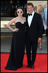 Helena Bonham Carter and Dominic West arrive for the BAFTA TV Awards at the Theatre Royal, London, United Kingdom. Sunday, 18th May 2014. Picture by Andrew Parsons / i-Images