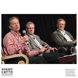 Andrew Shaw;Steve Maharey;Rick Friesen at the Spada Conference 06 at the Hyatt Regency Hotel, Auckland, New Zealand.<br />