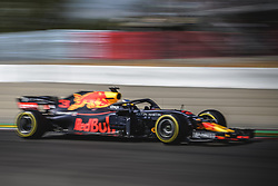 May 11, 2018 - Barcelona, Catalonia, Spain - MAX VERSTAPPEN (NED) drives during the second practice session of the Spanish GP at Circuit de Catalunya in his Red Bull RB14 (Credit Image: © Matthias Oesterle via ZUMA Wire)