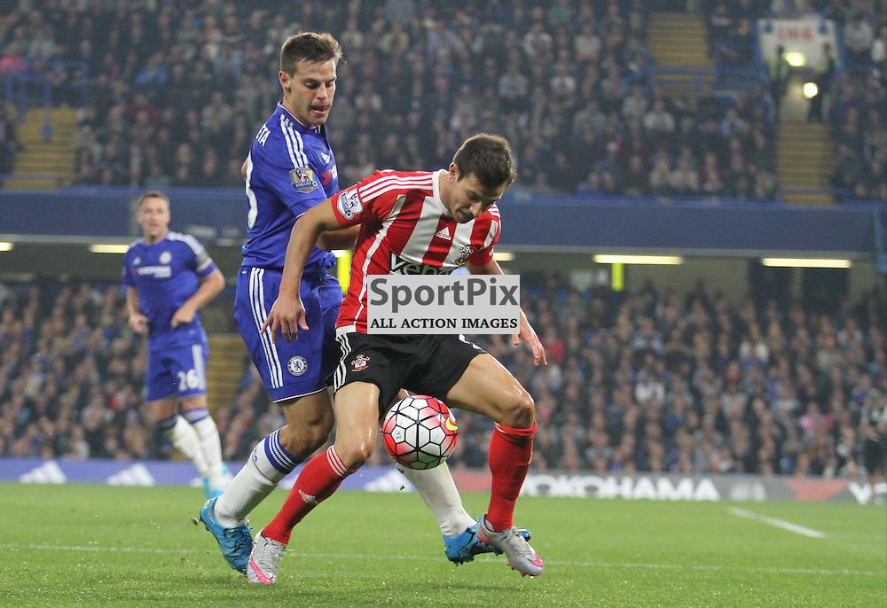 Cesar Azpilicueta in action against Southampton