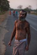 Lassance_MG, Brazil.<br /> <br /> Arnor Pinheiro Martin, apos ficar preso por tentativa de assassinato, ele comecou a tatuar as mulheres com quem se relacionou em seu corpo em Lassance, Minas Gerais.<br /> <br /> Arnor Pinheiro Martin, after getting arrested for attempted murder, he started tattooing women whom he related in his body in Lassance, Minas Gerais.<br /> <br /> Foto: LEO DRUMOND / NITRO
