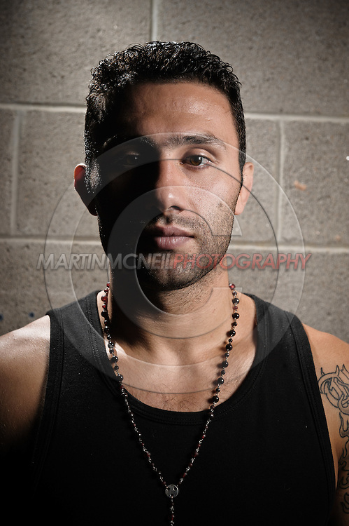 "A portrait of mixed martial arts athlete Karo ""The Heat"" Parisyan"
