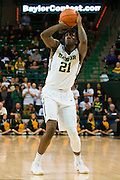 WACO, TX - JANUARY 7: Taurean Prince #21 of the Baylor Bears shoots the ball against the Kansas Jayhawks on January 7, 2015 at the Ferrell Center in Waco, Texas.  (Photo by Cooper Neill/Getty Images) *** Local Caption *** Taurean Prince