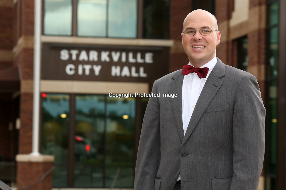 Outgoing Starkville Mayor Parker Wiseman