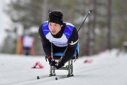 WON Yoomin, KOR, LW11.5 at the 2018 ParaNordic World Cup Vuokatti in Finland