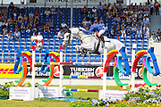 Judy Ann Melchior - Casuality Z<br /> FEI European Championships Aachen 2015<br /> © DigiShots