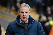 Wolverhampton Wanderers manager Kenny Jackett during the Sky Bet Championship match between Wolverhampton Wanderers and Preston North End at Molineux, Wolverhampton, England on 13 February 2016. Photo by Alan Franklin.