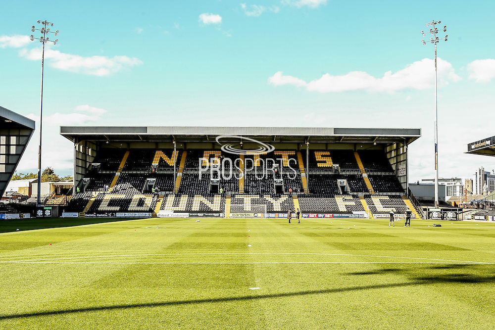 Meadow Lane during the Sky Bet League 2 match between Notts County and York City at Meadow Lane, Nottingham, England on 26 September 2015. Photo by Simon Davies.