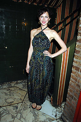 MARGOT STILLEY at a dinner hosted by fashion label Issa at Annabel's, Berekely Square, London on 24th April 2007.<br /><br />NON EXCLUSIVE - WORLD RIGHTS