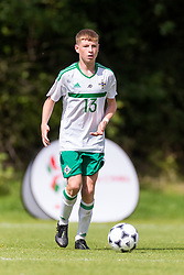 WREXHAM, WALES - Thursday, August 15, 2019: Northern Ireland's Cormac Austin during the UEFA Under-15's Development Tournament match between Wales and Northern Ireland at Colliers Park. (Pic by Paul Greenwood/Propaganda)