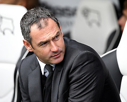 Derby County Manager Paul Clement - Mandatory byline: Robbie Stephenson/JMP - 07966 386802 - 03/10/2015 - FOOTBALL - iPro Stadium - Derby, England - Derby County v Brentford - Sky Bet Championship