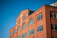 2018 FEBRUARY 12 - Union Stables building facade at Blanchard and Western, Seattle, WA, USA. By Richard Walker