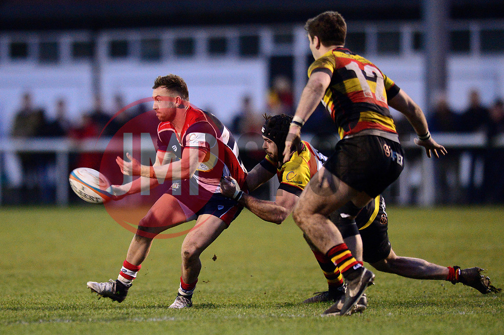 Andy Uren of Bristol Rugby - Mandatory by-line: Dougie Allward/JMP - 30/12/2017 - RUGBY - The Athletic Ground - Richmond, England - Richmond v Bristol Rugby - Greene King IPA Championship