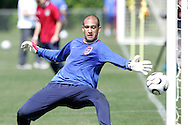 17 May 2006: Goalkeeper Tim Howard. The United States' Men's National Team trained at SAS Soccer Park in Cary, NC, in preparation for the 2006 World Cup tournament to be played in Germany from June 9 through July 9, 2006.
