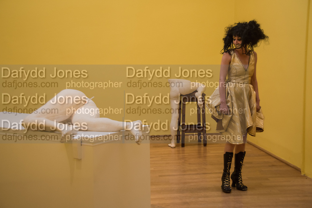 TERRY NIXON FROM 100 % BEEF COCK AND THE TITS BURSTER, Venice Biennale, Venice. 6 May 2015