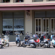 Scooters of Bellingham annual Hamster Run rally, Bellingham, Washington