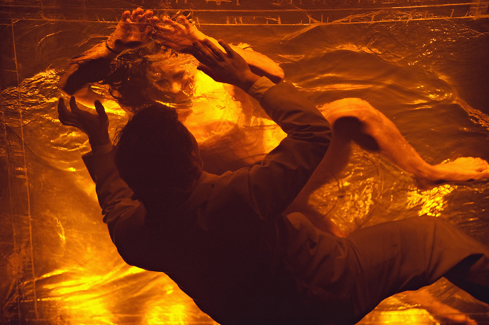 "Scene from ""Fuerza Bruta"" at the Daryl Roth Theatre, New York, New York"