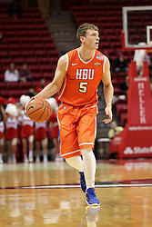 21 November 2015: Colter Lasher(5). Illinois State Redbirds host the Houston Baptist Huskies at Redbird Arena in Normal Illinois (Photo by Alan Look)