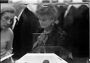 24/10/1971<br /> 10/24/1971<br /> 24 October 1971<br /> Opening of ROSC 1971 at the RDS, Ballsbridge, Dublin.