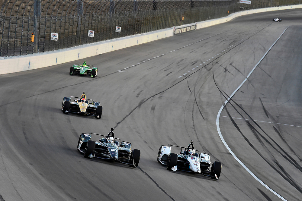 Ed Carpenter, Ed Carpenter Racing Chevrolet, Graham Rahal, Rahal Letterman Lanigan Racing Honda